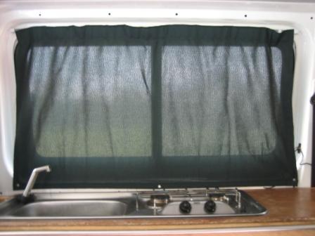 campervan curtains | campervan conversion