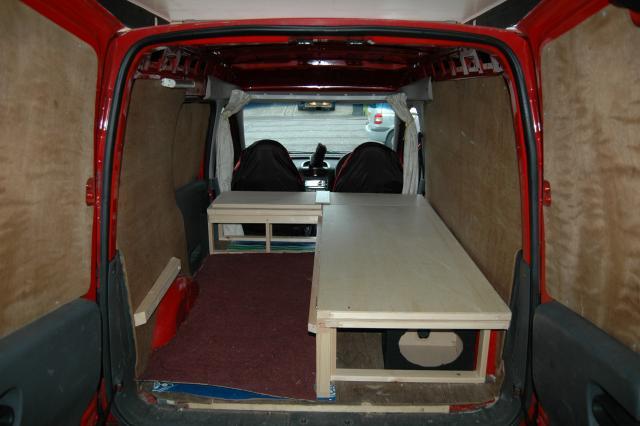 Ply Lined Van Campervan Conversion Campervan