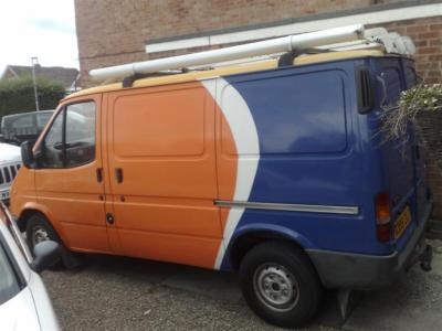 Ford Transit Conversion To Camper Day Van