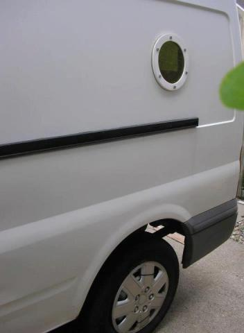 Making Amp Fitting A Porthole Window Campervan Conversion
