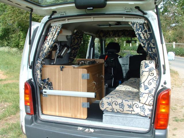 Small Van Campervan Conversion Project: Tin Tent 2 | Campervan