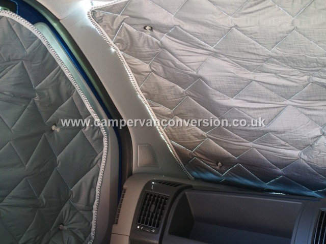 Van window insulation campervan conversion for Window insulation