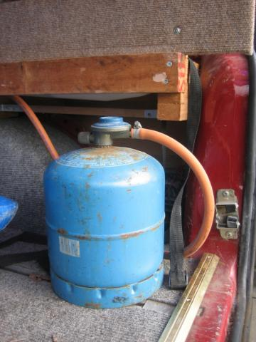 Gas Bottle Supply Campervan Conversion Campervan