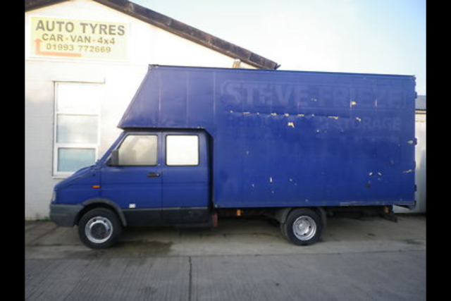 Iveco Daily Campervan Conversion Project: Iveco daily Luton