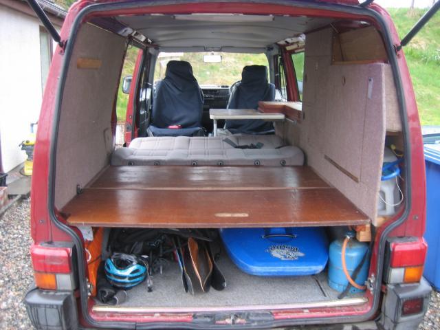 VW T4 Transporter Campervan Conversion Project Multisport