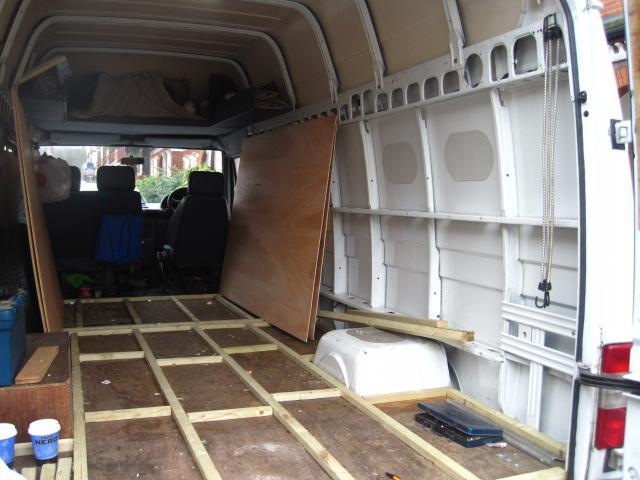Ldv Convoy Amp Pilot Campervan Conversion Project The Duck