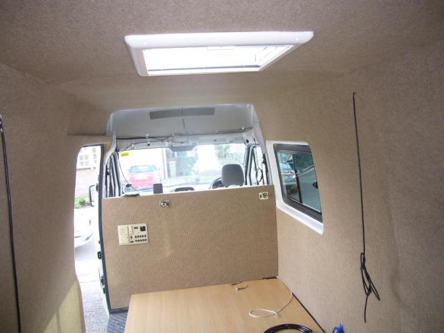 Fitting the Roof Skylights | Campervan Conversion