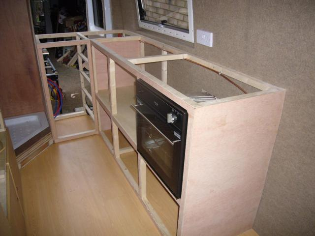 Built Kitchen Units For Oven Grill Hob And Sink