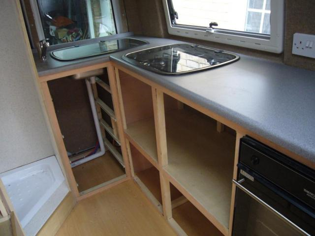 Campervan Kitchen Units With Grill