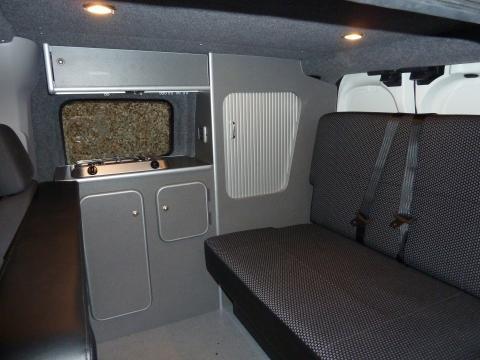 Small Van Campervan Conversion Project Peugeot Bipper