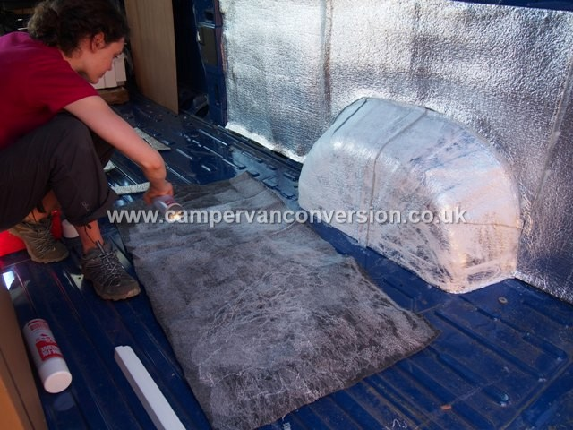 Campervan Carpet Lining Campervan Conversion