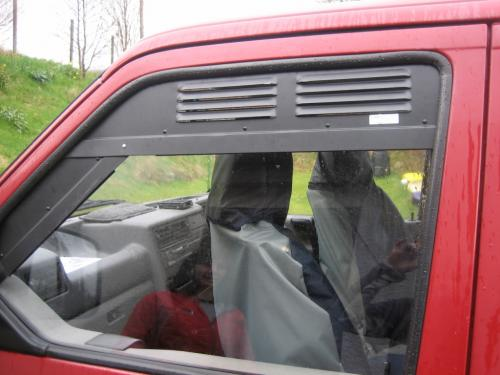 Rubber Mounted Windows