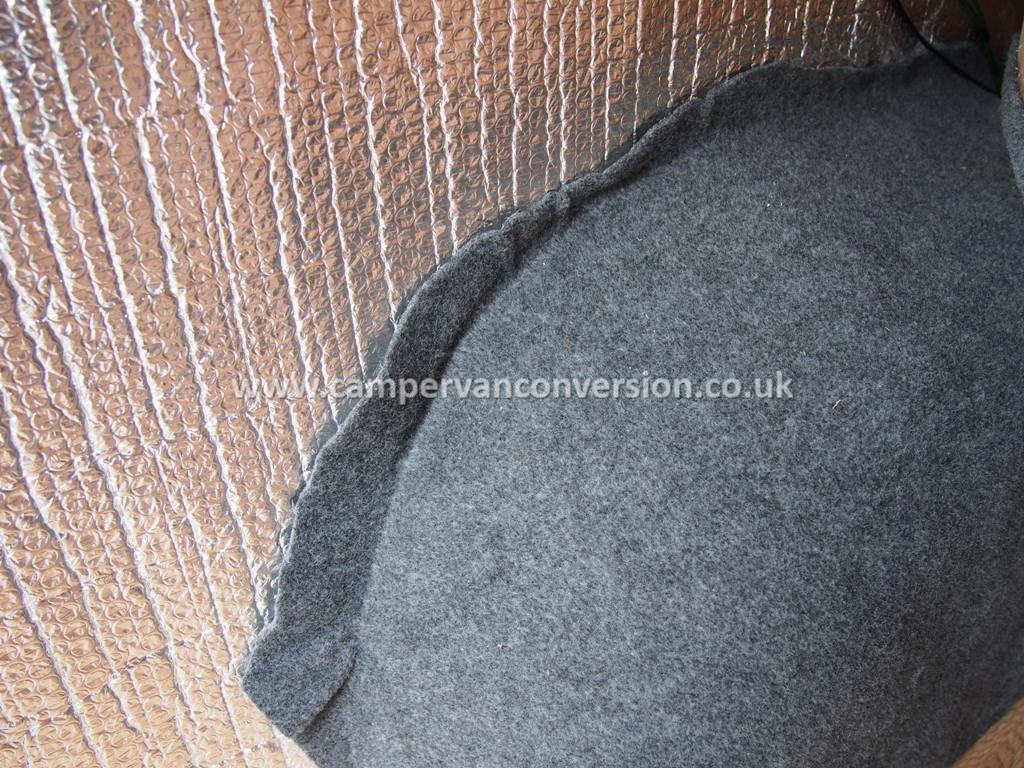 Foil insulation ... & Campervan Insulation | Campervan Conversion