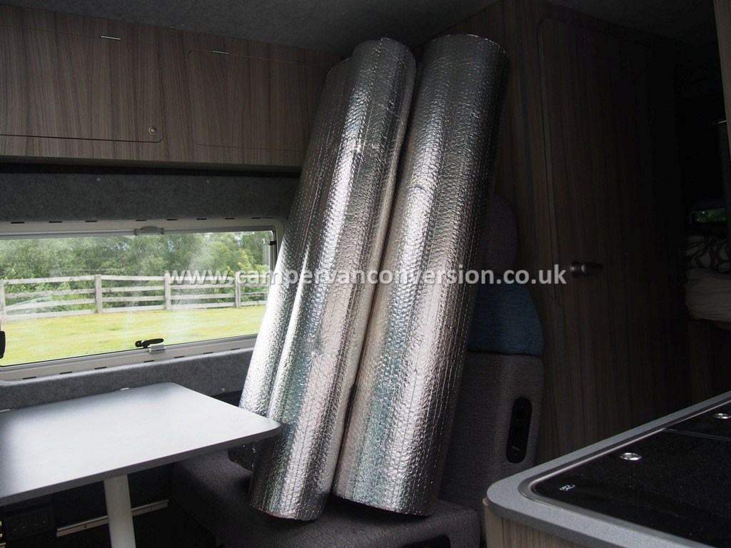 A Well Insulated Campervan