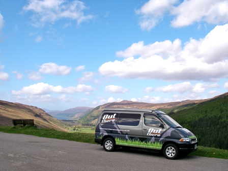 Out There and Campervan Conversion Campervan Hire