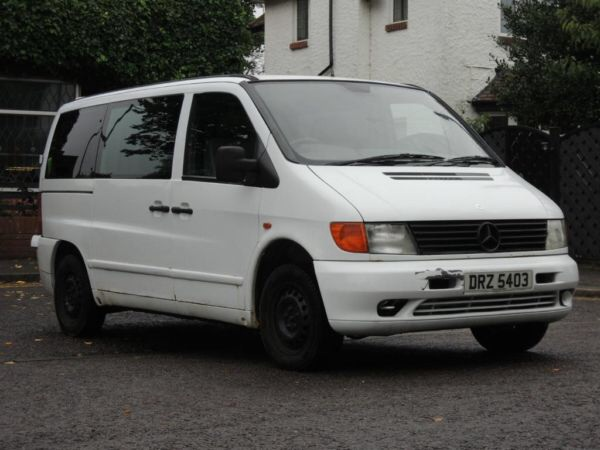 My Mercedes Vito Camper To Be