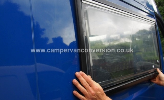 Fitting Van Windows