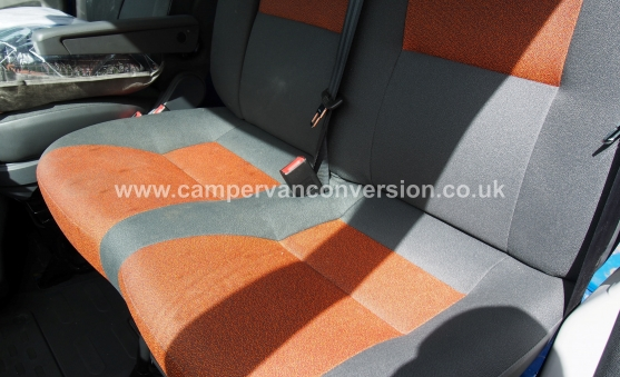 Replacing Campervan Passenger Seats