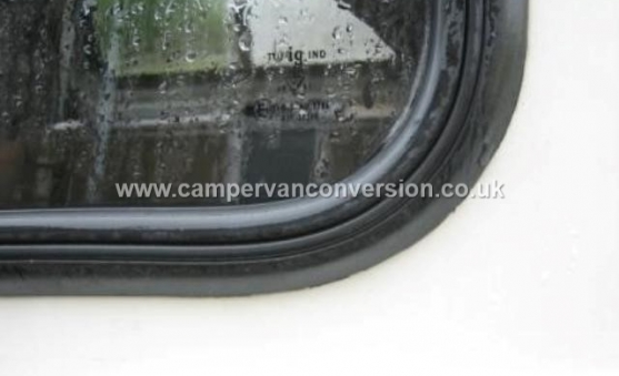 Fitting Rubber Mounted Campervan Windows