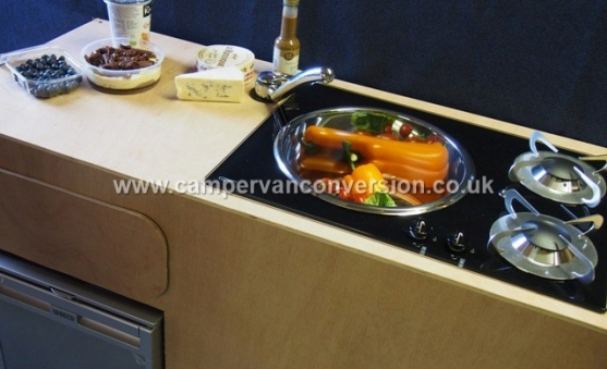 Food requiring a campervan kitchen!