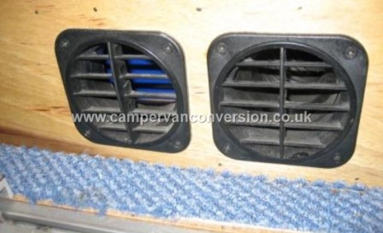 Campervan Heater Ducts