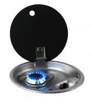 CAN Single Burner Round Gas Stove