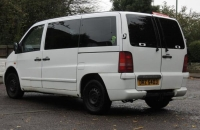 My Mercedes Vito camper to be!