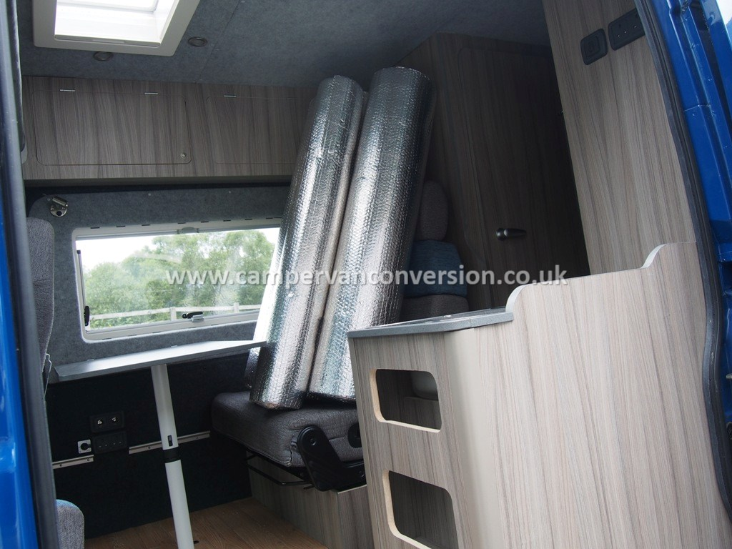 lightwieght interior garage panel ideas - Campervan Insulation