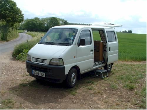 small camper vans for sale uk small van campervan conversion project tin tent