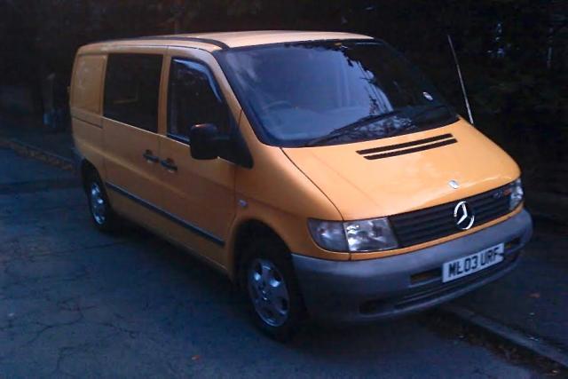 Mercedes Vito Campervan Conversion Project The Weetabix Van