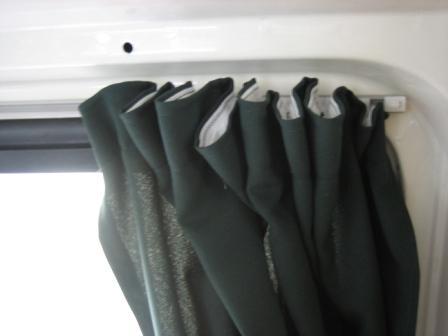 Campervan Curtains Conversion