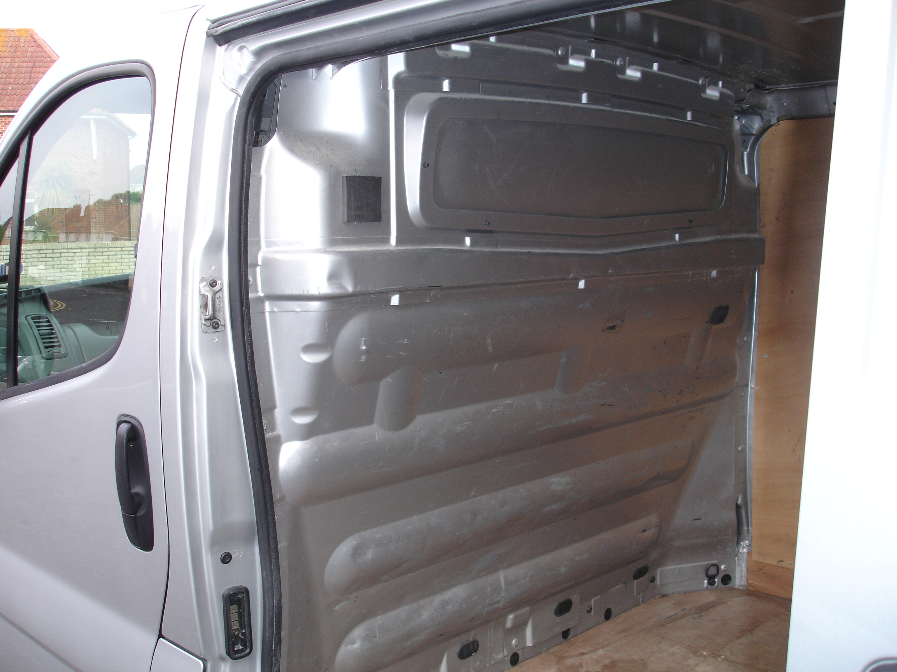 Trafic And Vivaro Campervan Conversion Project My First