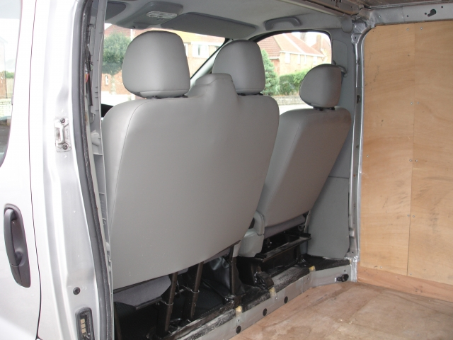 Trafic and Vivaro Campervan Conversion Project: My First