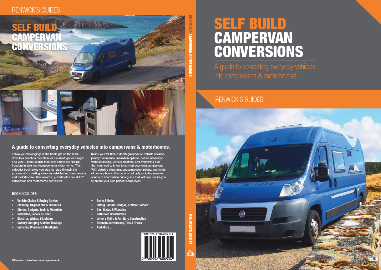 Campervan Electrics Conversion Caravan Mains Wiring Diagram Weve Collaborated With Renwicks Guides To Publish This Fantastic New Book About Self Build Conversions Dont Start Your Project