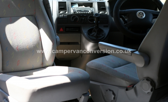 Fitting Swivel Seats | Campervan Conversion