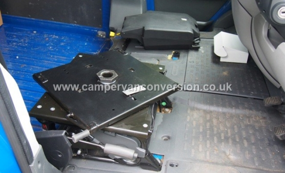 Fitting Swivel Seats Campervan Conversion