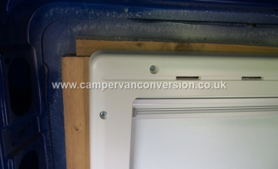 Fitting Framed Campervan Windows