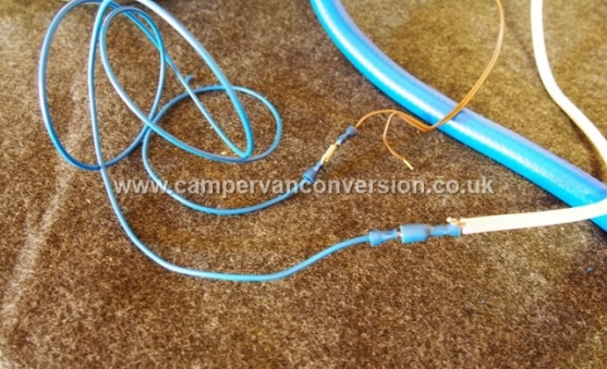 Campervan Water System Electrics