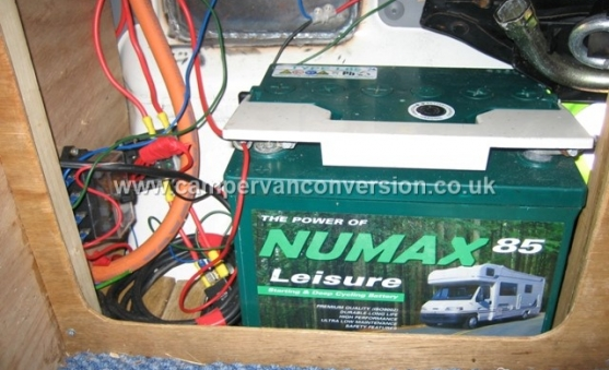 Campervan Leisure Batteries