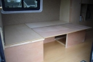 Built Seating to Convert to Double Bed