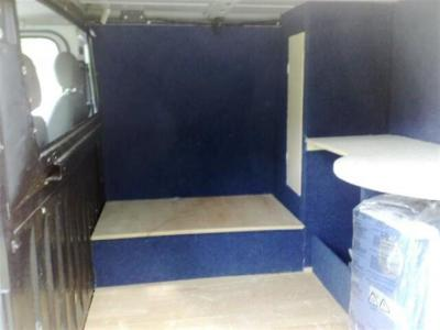 Bench Seat And Storage Campervan Conversion Campervan